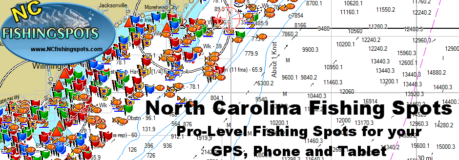 North Carolina Fishing Maps